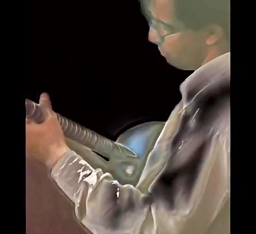 بداهه نوازی در دستگاه نوا تار نیما فریدونی 1380