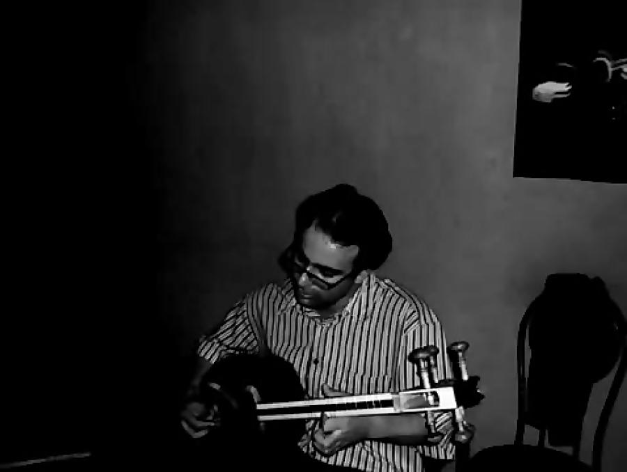 بداههنوازی در آواز افشاری، نوا و مقام داد و بیداد تار نیما فریدونی بم تار با آرشه سلمان سالک