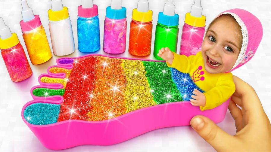 تصویر از برنامه کودک جدید – ماجراهای ساشا – آدامس حبابی رنگی