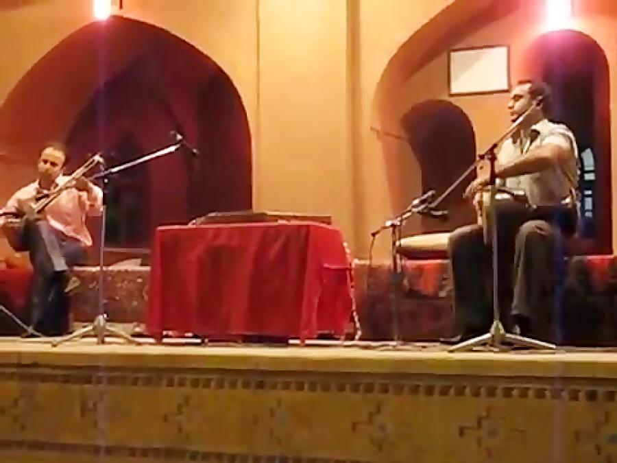 کنسرت نیما فریدونی و ایمان ملکی تار و تمبک ارگ گوگد مرداد ۱۳۸۹