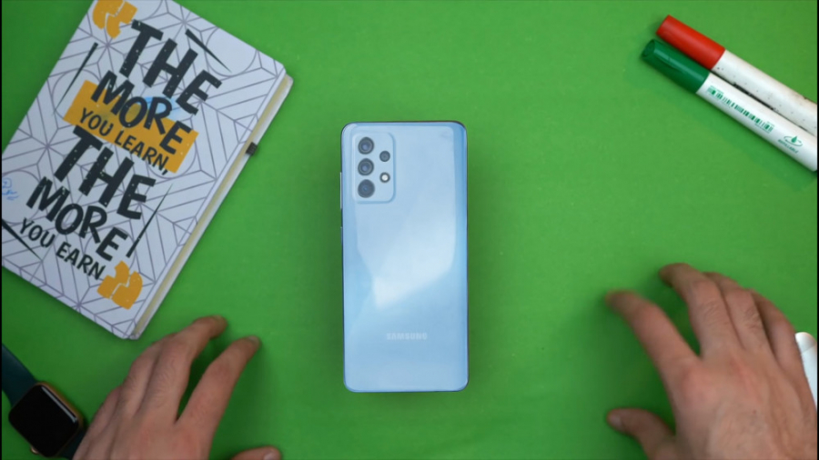 جعبه گشایی و بررسی گلکسی A72 سامسونگ ( Samsung Galaxy A72 )