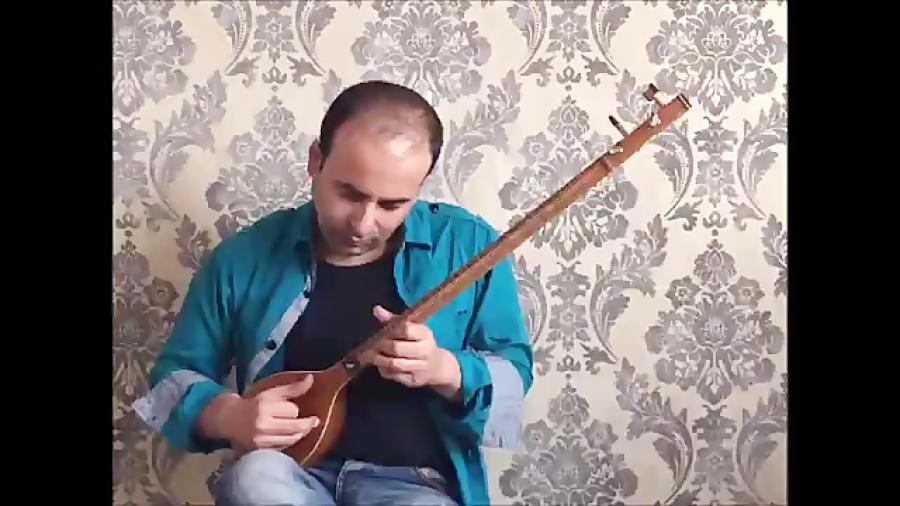 فیلم آموزش شورانگیز ده قطعه برای تار ۱ حسین علیزاده نیما فریدونی تار