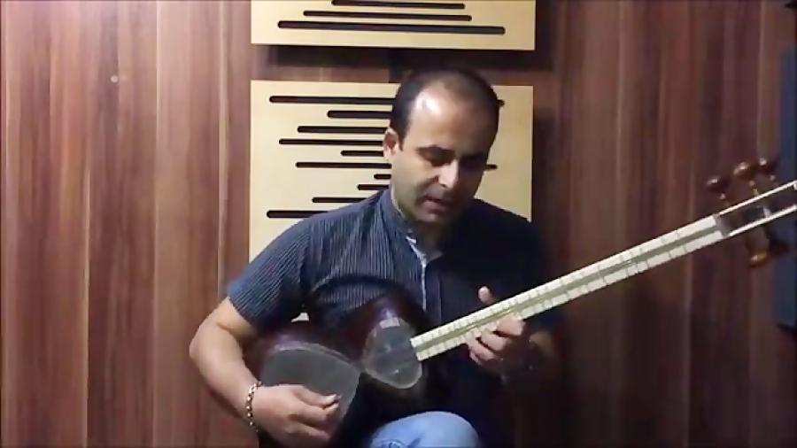 تصنیف دیدم صنمی دستگاه شور گوشه شهناز ابوالقاسم عارف قزوینی نیما فریدونی تار