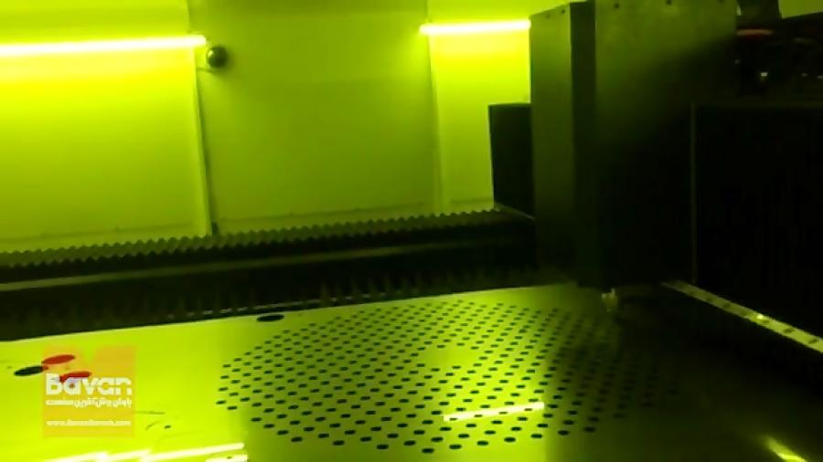برش فایبر لیزر- باوان برش آگرین صنعت