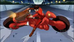 صحنه معروف موتور آکیرا بهمراه انیمیشن های مختلف (بتمن و ...) > وایرال وان