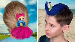 10 ایده جالب برای مدل مو پسر و دختر