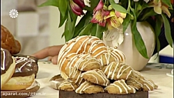 کیک شیر عسلی و نارگیلی -...