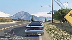 مکان بهترین و خفن ترین ماشین جی تی ای وی ...(GTA V)... مکان ماشین خفن