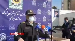 توضیحات سردار رحیمی در خصوص جزئیات دستگیری عامل انتحاری در عوارضی تهران
