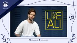 """ویدئو موزیک علی اکبر قلیچ """" Live Like Ali """"  با کیفیت Full HD"""
