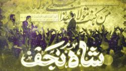 """نماهنگ """" شاه نجف """" ها علی بشر کیف بشر از محمود کریمی"""