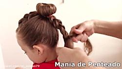 مدل موی کودکان توری _ بافت موی دختر بچه