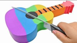 ساخت کیک گیتاری با ماسه های متحرک