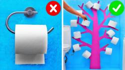 ترفندهای جالب برای دستشویی و حمام