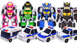 اسباب بازی کودکانه : نبرد پلیس و هیولاها