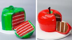 آموزش تزیین کیک:: تزیین کیک و دسر:: کیک شکلاتی