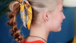 ترفندهای دخترانه برای بستن مدل موهای شیک و آسان
