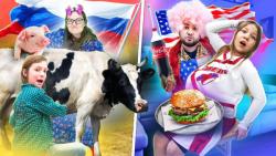 تفاوت مامان امریکایی - مامان روسی