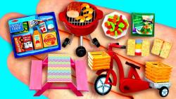 آموزش 33 وسیله و خوراکی جالب برای عروسک باربی