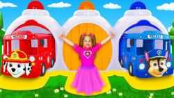 برنامه کودک - آنیتا و یاریک قهرمان شهر میشوند و بچهها را نجات میدهند