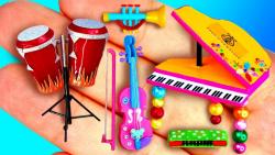 آموزش 37 وسیله موزیک برای باربی