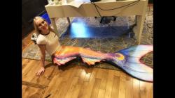 معرفی لباس جالب پری دریایی