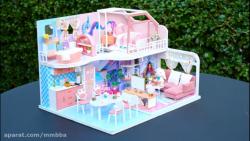 کاردستی هنری ساخت خانه ...