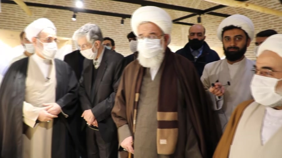 افتتاحیه نمایشگاه کتاب  گفتمان انقلاب اسلامی