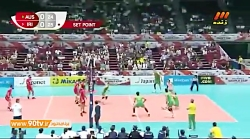 جام جهانی والیبال: استرالیا 3-0 ایران