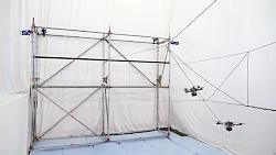 ساخت یک پل با طناب توسط پهپادهای هوشمند نسل جدید