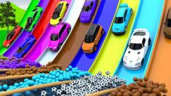 کارتون ماشین بازی:: اتومبیل های ورزشی::: ماشین بازی جدید