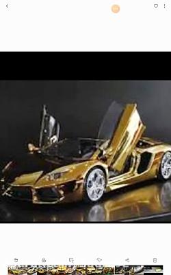 ماشین هایی که جنسشان از طلا هست