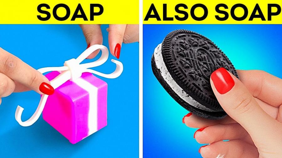 صنایع دستی باورنکردنی صابون که شما را متحیر خواهد کرد