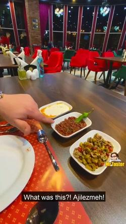 تیست غذاهای رستوران ترکیه ای بورسا کباب (قسمت اول)