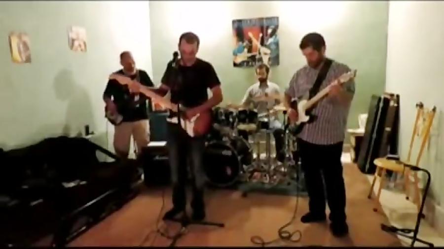 فیلم تمرینات گروه نوازی اساتید آموزشگاه موسیقی فریدونی گروه بلوز قوطی کبریت