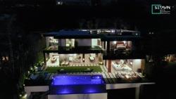 ویلا Brentwood ، اثر  Huntington Estate Properties ، آمریکا ، کالیفرنیا