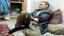 دعوای فوق العاده باحال و جالب یک پیرمرد و پیرزن:)