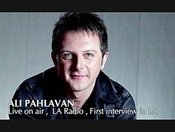 مصاحبه علی پهلوان با رادیو لس آنجلس - ۲۰۱۰