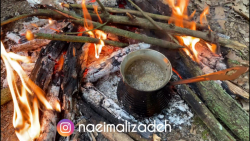 آشپزی در طبیعت-نعیم پسر جنگل