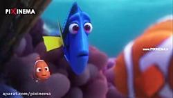 انیمیشن در جستجوی دوری ، سکانس گرفتار شدن دوری در موسسه نجات آبزیان