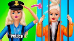 12 ایده جالب برای باربی پلیس و زندانی