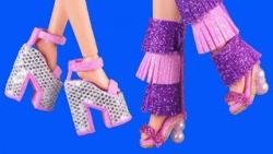 آموزش 6 مدل کفش باربی