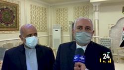 ظریف : شهیدان سلیمانی و ابوالمهندس نماد مقاومت ایران و عراق هستند