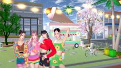 کد ۴ مکان زیبا در بازی ساکورا | Code 4 place beautiful in sakura game