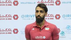 با پوریا فیاضی در اردوی تیم ملی