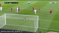 خلاصه بازی رئال مادرید 2-0 اوساسونا (3 امتیاز مهم)
