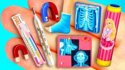 آموزش 27 وسیله پزشکی باربی - آموزش عروسک باربی