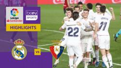 رئال مادرید 2-0 اوساسونا | خلاصه بازی |  سایه به سایه اتلتیکو در صدر جدول