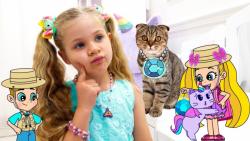 ماجرای جدید دیانا و روما**جواهرات پرنسسی گربه ها