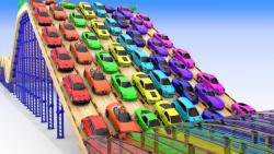 کارتون ماشین بازی:: ماشین های کوچیک اسپرت:: ماشین بازی جدید